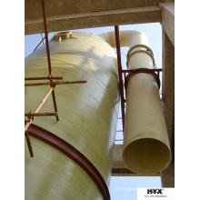 Fiberglasrohre für die chemische Industrie