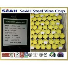 ERW tubería de acero, tubería galvanizada, tubería de petróleo, tubería de gas, tubos coreanos hechos en Vietnam