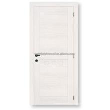 Placa do MDF folheado projeto de porta de madeira do painel