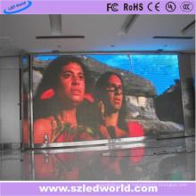 Affichage à LED polychrome d'intérieur de l'intense luminosité P6 (192 * 192mm)