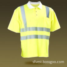 cotton safety shirt,high visibility t shirt,reflective t shirt