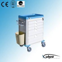 Chariot d'urgence médical d'hôpital (P-18)