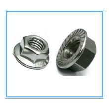 DIN6923 Aço Carbono Hex Flange Nut