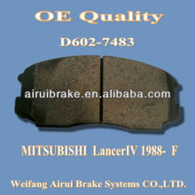 D602 Mitsubishi brake pad for Lancer IV 1998-F