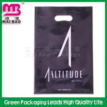Kundenspezifische LDPE und HDPE Günstige Gestanzte Patch Griff Kunststoff Einzelhandel Taschen
