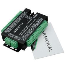 LED controlador WS24LU3A decodificador 24 canales RGB luz con módulo controlador DMX512