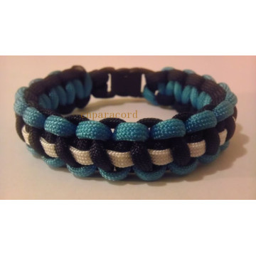 4meters 550 paracord braided bracelet plastic buckle