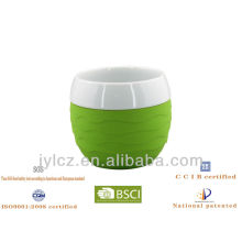 Keramikbecher Silikonhülle