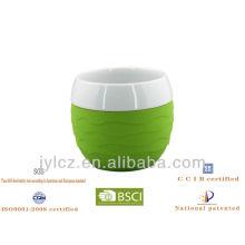 ceramic mug silicone sleeve