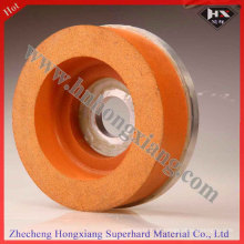 10s 40 Grit Diamond polimento roda de vidro Polimento