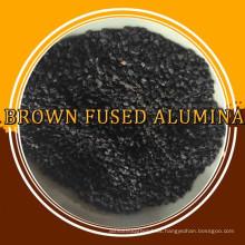 Brown de alta calidad fundió el corindón del alúmina / de Brown, material abrasivo / refractario de alto grado