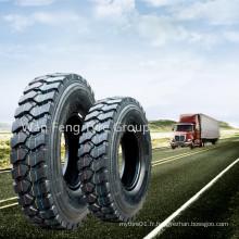 Pneu de camion de marque Annaite 10.00r20 11.00r20 12.00r20 avec motif de certificat DOT 399