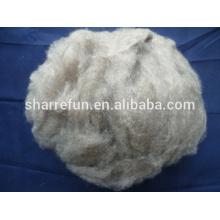 Sharrefun (Mongolia origin) pure dehaired cashmere fiber brown color