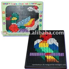 Pädagogisches Spielzeug Plastik Block Puzzle