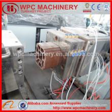 WPC garden corridor column/fence/decking/floor making machine WPC machine