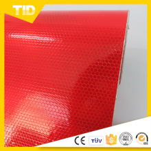 Película reflexiva del PVC para el anuncio