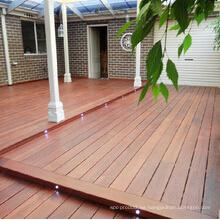 Revestimiento de piso a prueba de agua al aire libre de cubierta de Merbau Hardwood