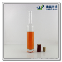 375ml Round Red Wine Glass Bottle with Cork Sealing