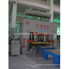 Máquina de fabricação de paletes de madeira / máquina de formação de placas de plástico