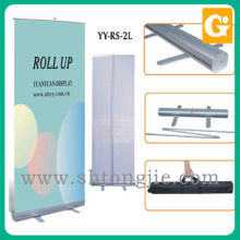 Atacado preço barato protable impressão em papel móvel puxar para cima banner stand display