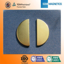 professional Nickel Coated Magnet Cylinder Magnet horseshoe magnets rohs material