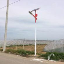 Professionelles Solarprojekt von 60W 8m Straßenlaterne mit Lithium-Batterie