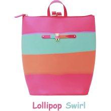 Custom Lollipop Swirl Food Grade Silicone Backpack