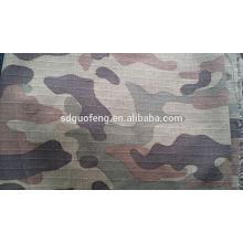 Tecido impresso camuflagem rip-stop T / C80 / 20 57/58 ''