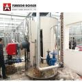 Chaudière de générateur de vapeur à gaz de type vertical