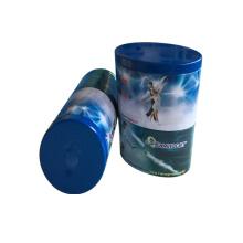 Kundenspezifische unregelmäßige ovale Form Metall Zinn Conatier für Tee Süßigkeiten