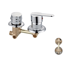 Factory OEM High quality 3 functions brass shower panel  bath taps  wall hot cold water faucet mixer tap