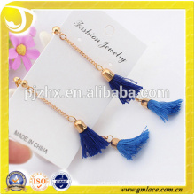 2016 Alibaba Wedding Ceremony Bridal Sexy Long Tassel Earrings