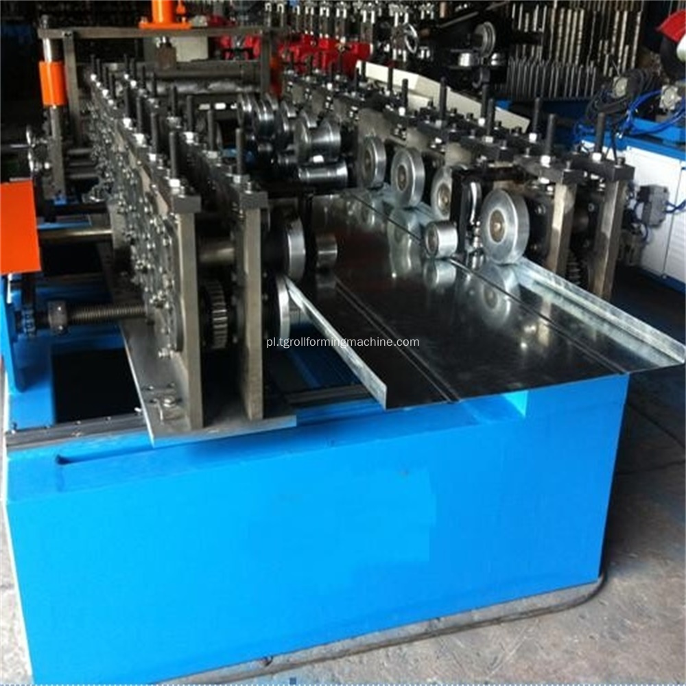 Supermarket Storage Shelf Plate deflektora Roll Forming Machine