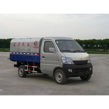 Changan Small 3CBM Disegel Sampah Sampah Truk