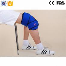 Tamaños ajustables mejor compresa fría alivio del dolor de la rodilla tratamiento de la correa