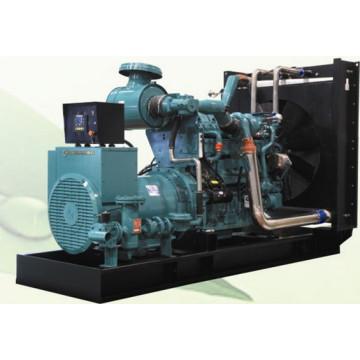 2400kw generador de combustible dual conjunto con motor Yuchai