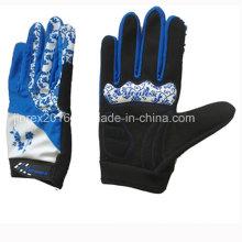 Radfahren voller Finger Fahrrad Sport Handschuh Gel Polsterhandschuh