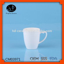 heart shape handle porcelain mug for promotion