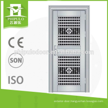 2016 Stainless steel security door with glass from China alibaba