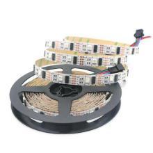 5 В постоянного тока адресуемых WS2801 RGB светодиодные ленты с заводской цене
