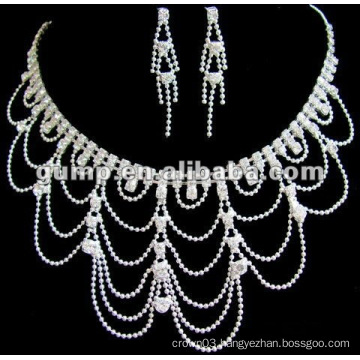 Latest bridal wedding jewelry set (GWJ12-455)