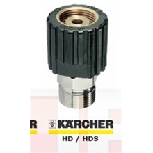 Plastic and Brass Karcher HD or HDS Nipple For Foam Gun