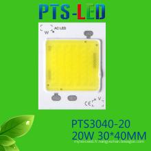 Haute puissance 20W/25W/30W/40W/50W AC COB LED haute qualité 110V 220V sans conducteur voyant d'alimentation