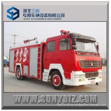6000L ~ 12000L Steyr 4X2 Camión de lucha contra incendios