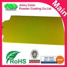 Ral 1021 Falten gelb Pulver Beschichtung Textur Pulver Farben