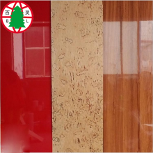Best Price for for Red Color Laminated MDF Hot Sale High Gloss UV Laminated MDF Board supply to China Macau Importers