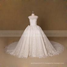 Perfect real picture Robe de mariée royale Robe de mariée