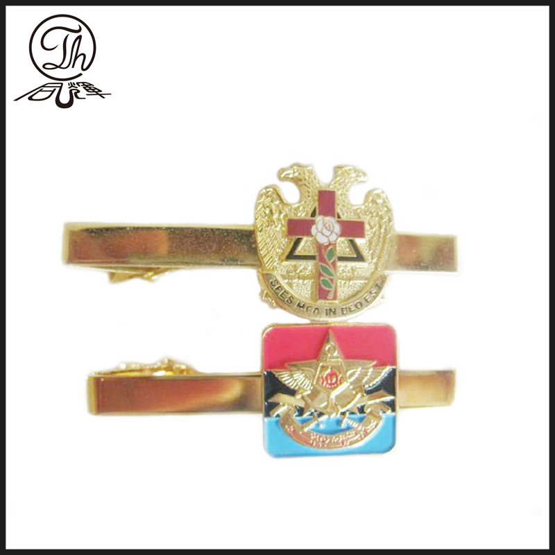 Gold plating Tie Slide