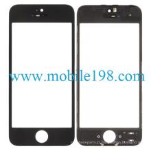 Lentille en verre avant de l'écran tactile pour iPhone 5