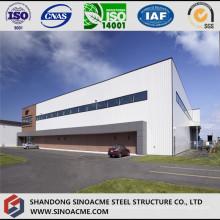 Großer spanischer Stahlstruktur-Flugzeug-Hangar mit Tür in voller Länge